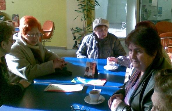 """Традиционна среща на директора на ТСБ Русе с жените-""""ветеранки""""  в навечерието на 8-ми март"""