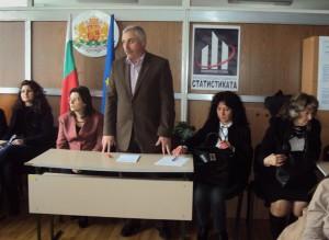 Ученици от Старопрестолната гимназия по икономика на среща в ТСБ-Велико Търново