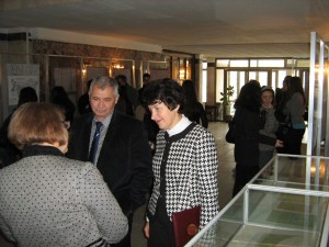 Дискусия за изложбата