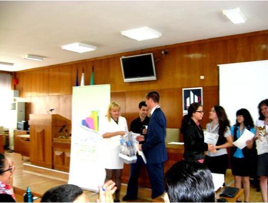 Директорката на ТСБ-Шумен г-жа Атанасула Настева поздрави всички участници
