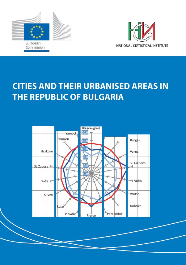 Градове и техните функционални урбанизирани ареали в Република България
